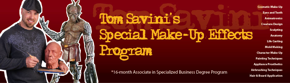 Tom Savinis Special Make Up Effects Program New To Makeup Effects