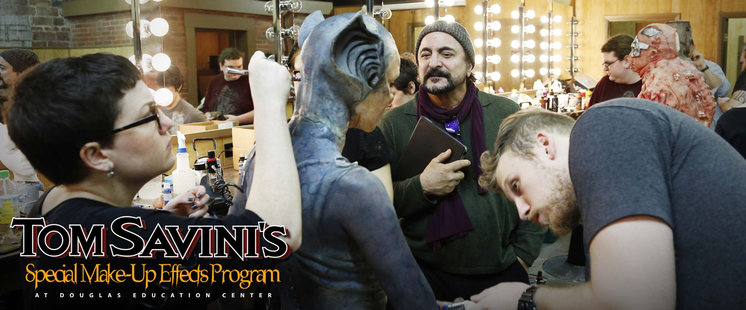 tom savini s special makeup effects program pennsylvania douglas