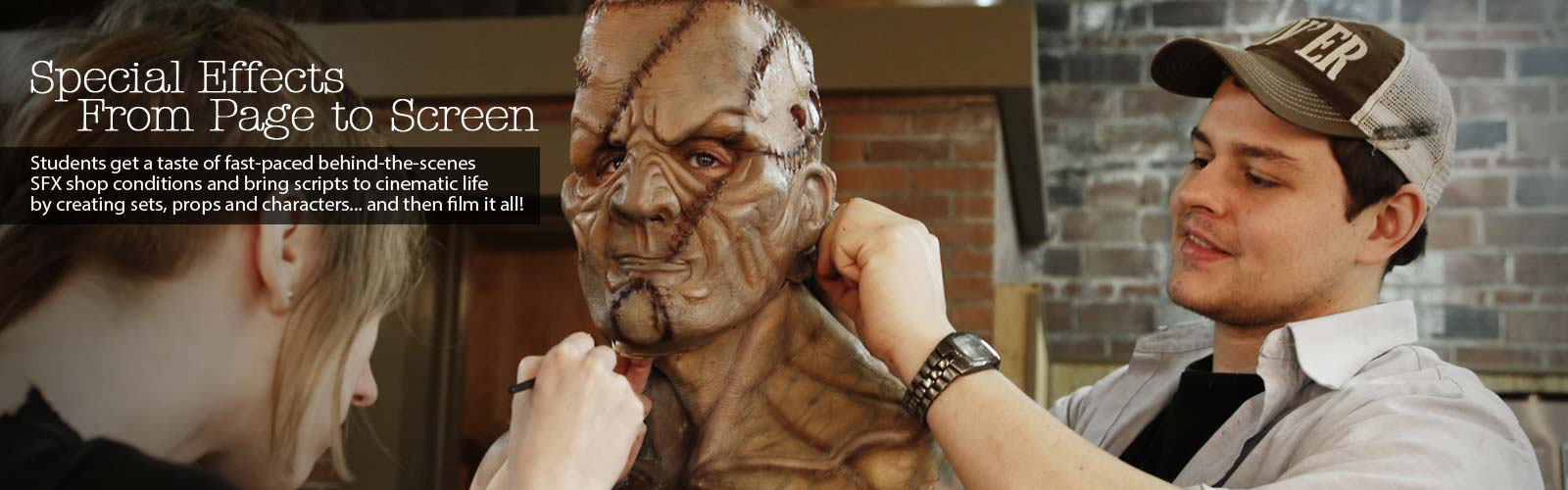 Special effects makeup jobs